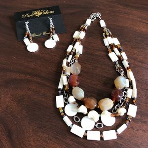 Park Lane Statement Necklace & matching earrings